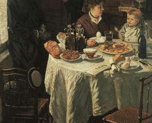 Завтрак — Клод Моне