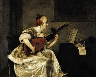 The Lute Player — Герард Терборх