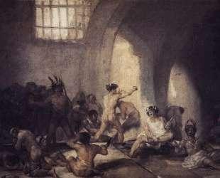 The Madhouse — Франсиско де Гойя