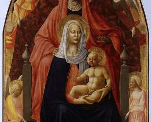 The Madonna and Child with st. Anna. — Мазаччо