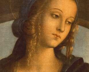 Мадонна между Иоанном Крестителем и Св. Себастьяном (деталь1) — Пьетро Перуджино