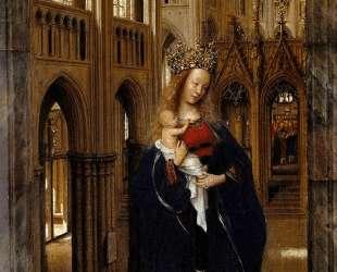 Мадонна в храме — Ян ван Эйк