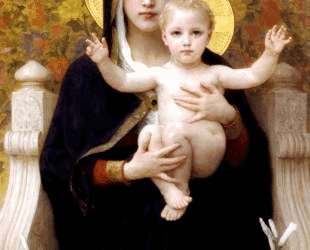 The Madonna of the Lilies — Вильям Адольф Бугро