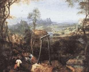 Сорока на виселице — Питер Брейгель Старший