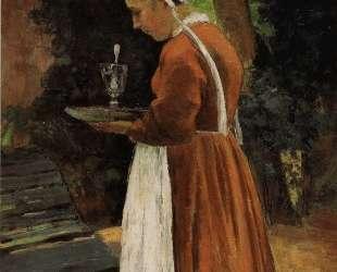 The Maidservant — Камиль Писсарро
