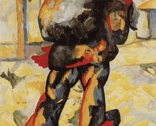 Мужчина с мешком — Казимир Малевич