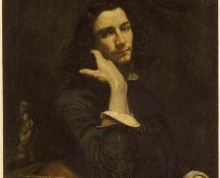 Мужчина с кожаным поясом. Портрет художника — Гюстав Курбе