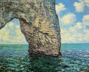 Маннпорт, прилив — Клод Моне