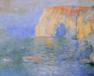 Маннпорт, отражение в воде — Клод Моне