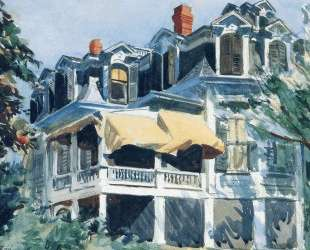 The Mansard Roof — Эдвард Хоппер