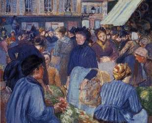 The Market at Gisors — Камиль Писсарро