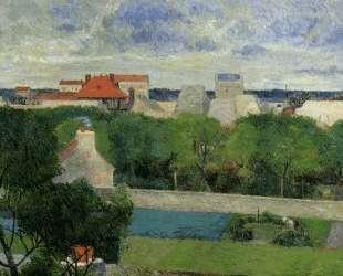 Сады Вожирара — Поль Гоген