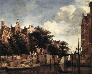 The Martelaarsgracht in Amsterdam — Адриан ван де Вельде