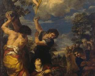 The Martyrdom of Saint Stephen — Пьетро да Кортона