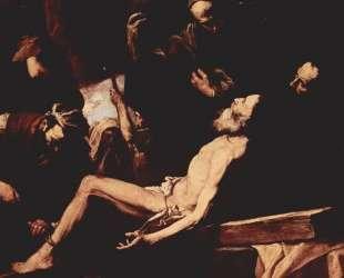 The Martyrdom of St. Andrew — Хосе де Рибера