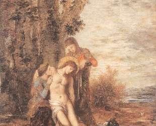 The Martyred St. Sebastian — Гюстав Моро