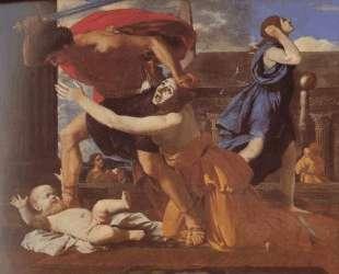 Избиение младенцев — Николя Пуссен