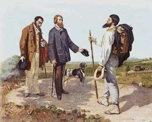 Встреча (Бонжур, месье Курбе) — Гюстав Курбе