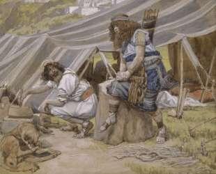 The Mess of Pottage — Джеймс Тиссо