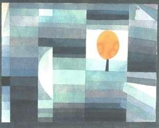 The messenger of autumn — Пауль Клее