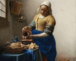 The Milkmaid — Ян Вермеер
