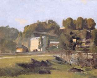 The mill of Sous Terre in Geneva — Фердинанд Ходлер