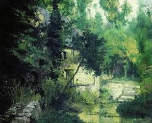 Мельница на истоке речки Вёль — Василий Поленов
