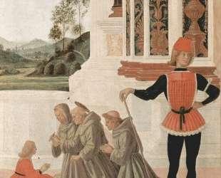 Чудеса Св. Бернардина. Исцеление юноши (деталь) — Пьетро Перуджино