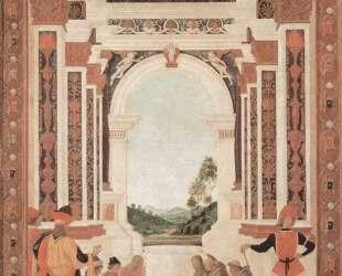 Чудеса Св. Бернардина . Исцеление юноши — Пьетро Перуджино