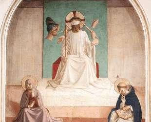 Осмеяние Христа — Фра Анджелико