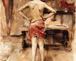 The Model — Джон Сингер Сарджент
