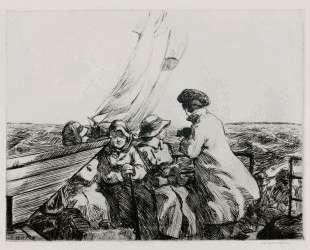 The Monhegan Boat — Эдвард Хоппер