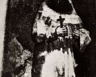 The monk — Франсиско де Гойя