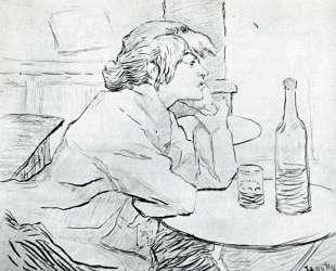 The Morning After — Анри де Тулуз-Лотрек