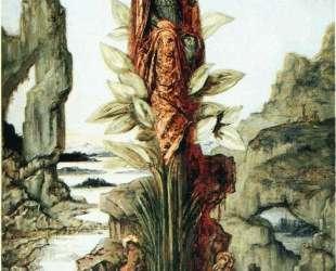 The Mystic Flower — Гюстав Моро