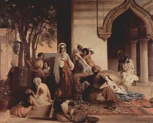 The new favorite (Harem scene) — Франческо Хайес