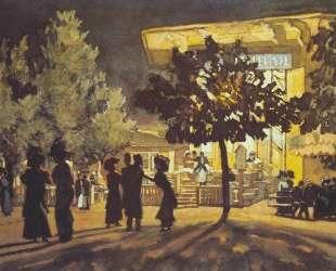 The Night. Tverskoy Boulevard — Константин Юон
