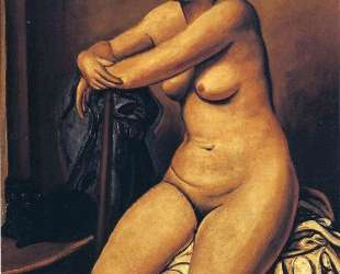 The nude female near the cat — Андре Дерен