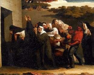Попугай в монастыре — Жан-Франсуа Милле