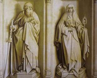 The Nuptials of the Virgin — St. James the Great and St. Clare — Робер Кампен