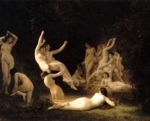 The Nymphaeum — Вильям Адольф Бугро