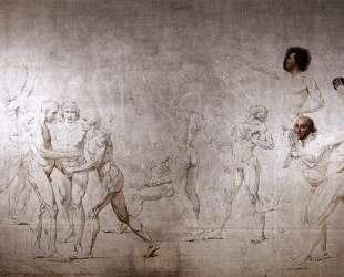 Клятва в Зале для игры в мяч — Жак Луи Давид