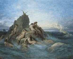 Океаниды — Гюстав Доре