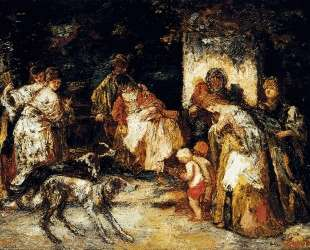 The Offering — Адольф Жозеф Тома Монтичелли