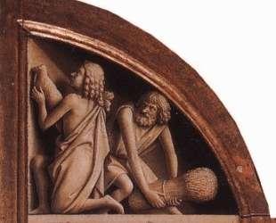 Жертвоприношения Каина и Авеля — Ян ван Эйк
