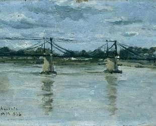 The old bridge in Ancenis — Максим Мофра