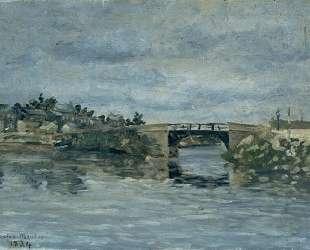 The old Bridge in Barbin — Максим Мофра