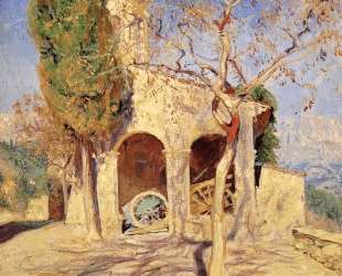 The Old Church at Cagnes — Ги Роуз