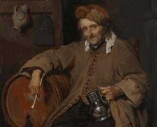 The Old Drinker — Габриель Метсю
