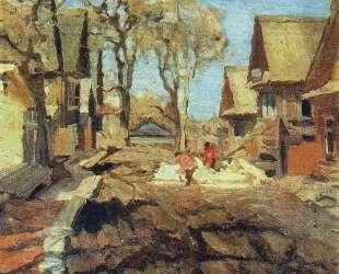 The Old Elms — Константин Юон